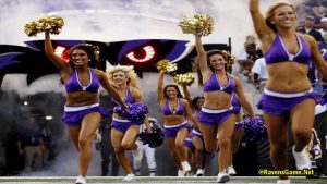 Baltimore Ravens Cheerleaders History