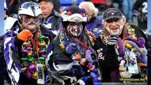 Baltimore Ravens Fans 2017