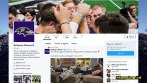 Baltimore Ravens Twitter Fans 2017