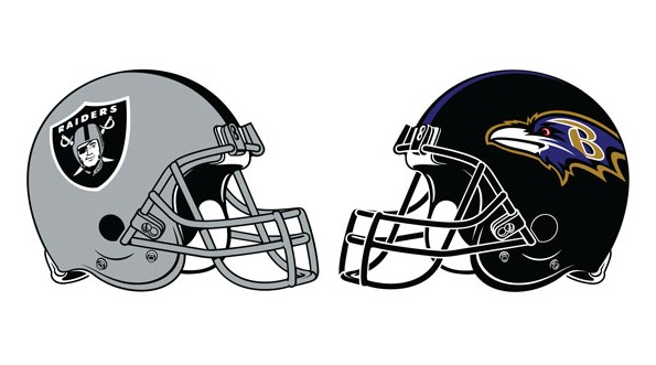 Ravens vs Raiders Sunday NFL Road Prediction